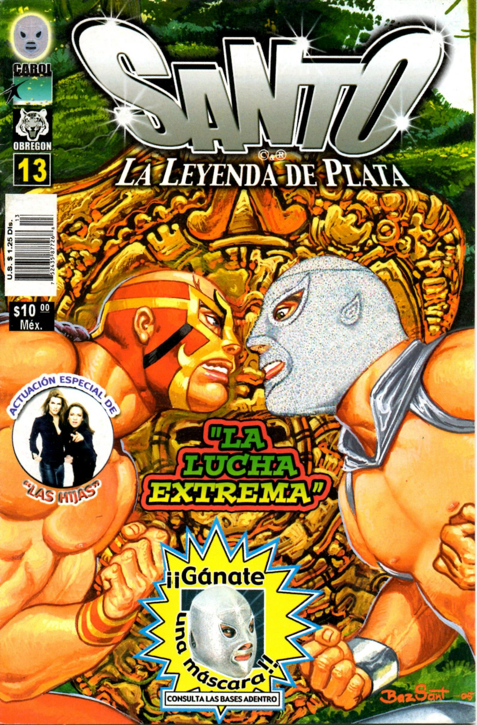 Santo Mexican ic book 2005 Wrestling ic Books