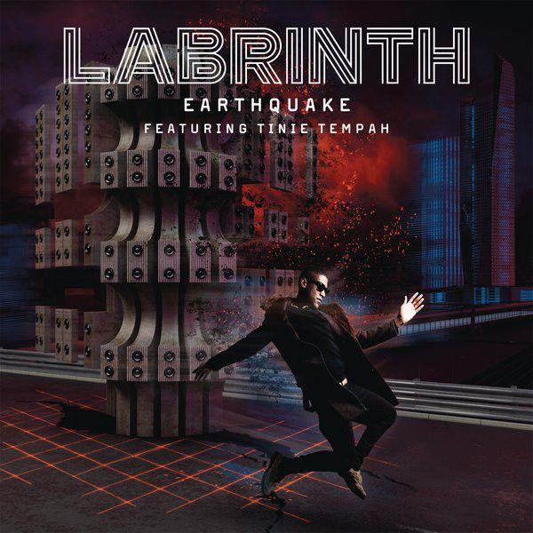 Labrinth, Tinie Tempah – Earthquake (single cover art)
