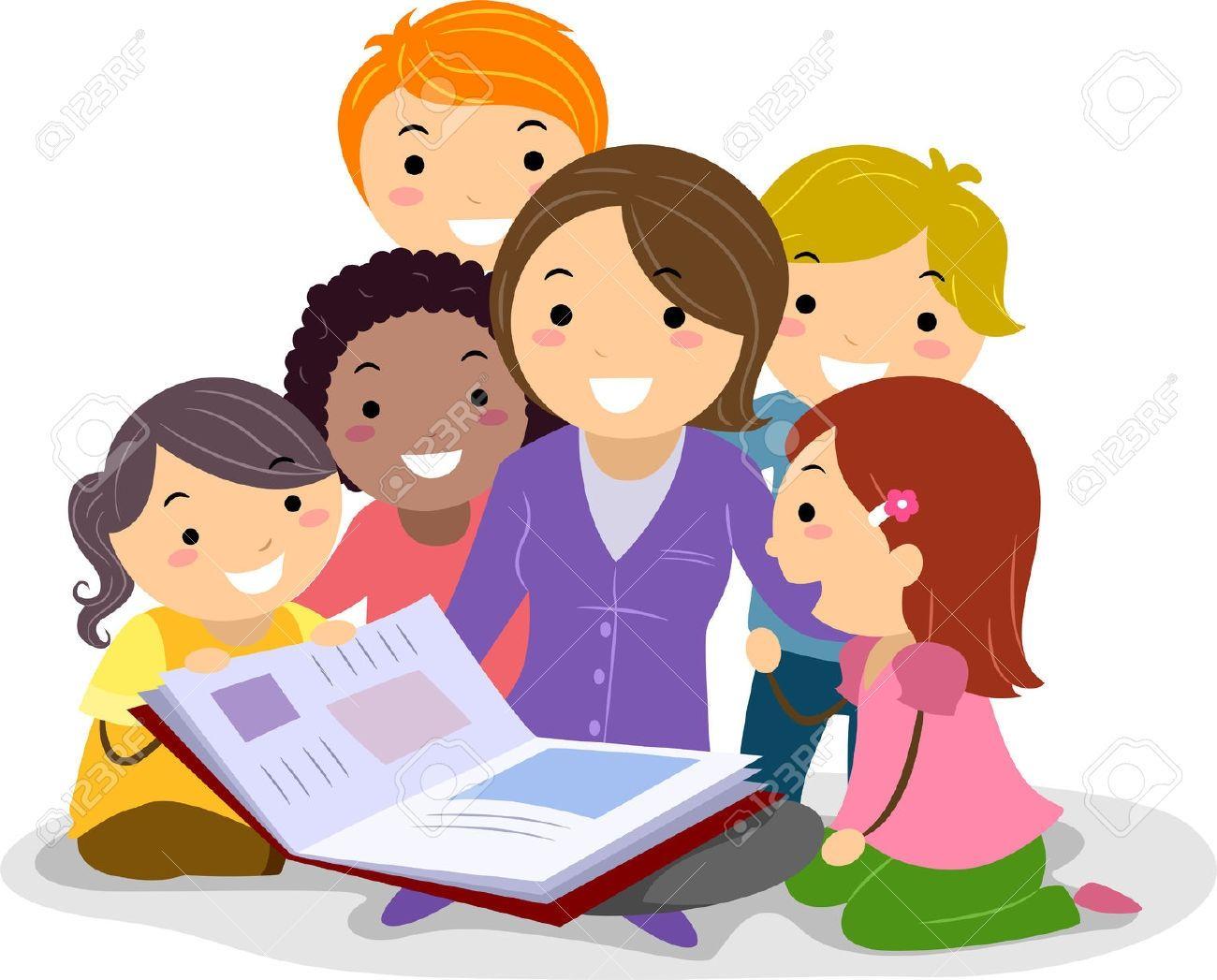 to the teacher reading a . | c | education, teacher, learning