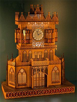 Gothic Clocks Scroll Saw Patterns Clock Scroll Saw