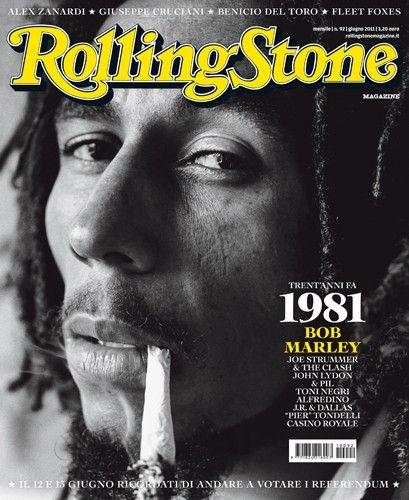 I primi 100 numeri di Rolling Stone N°92 - #BobMarley #JoeStrummer Doppia copertina, giugno 2011