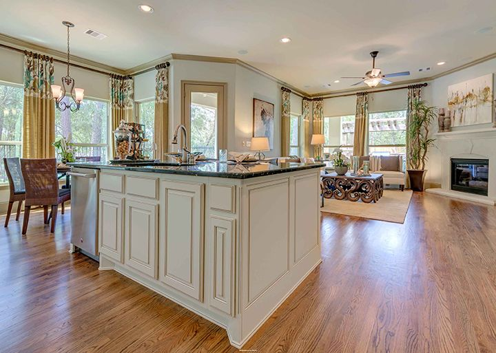 A Modern Styled Kitchen By Darling Homes Model Homes Home Home Photo