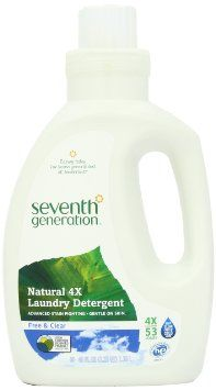 Seventh Generation Liquid Laundry 4x Free And Clear 40 Fl Oz 2