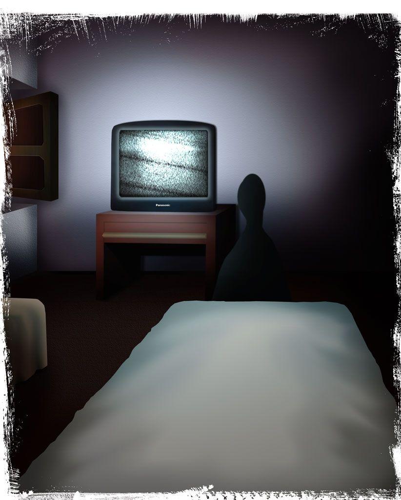 Un relato de terrores nocturnos  No mires a los pies de la cama... #relato #terror
