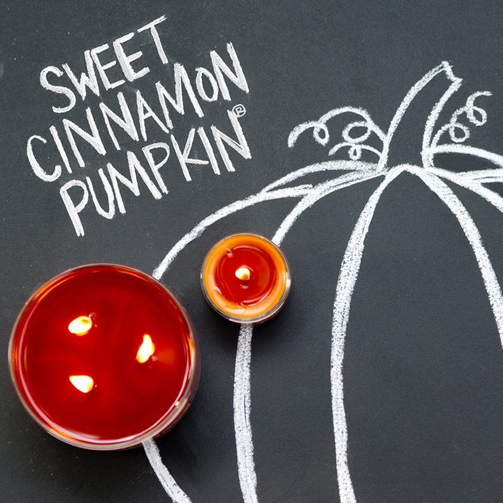 Bath & Body Works Sweet Cinnamon Pumpkin Candles (via Facebook)