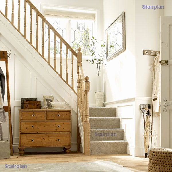 21 Staircase Decorating Ideas: Wooden Staircases Stairplan