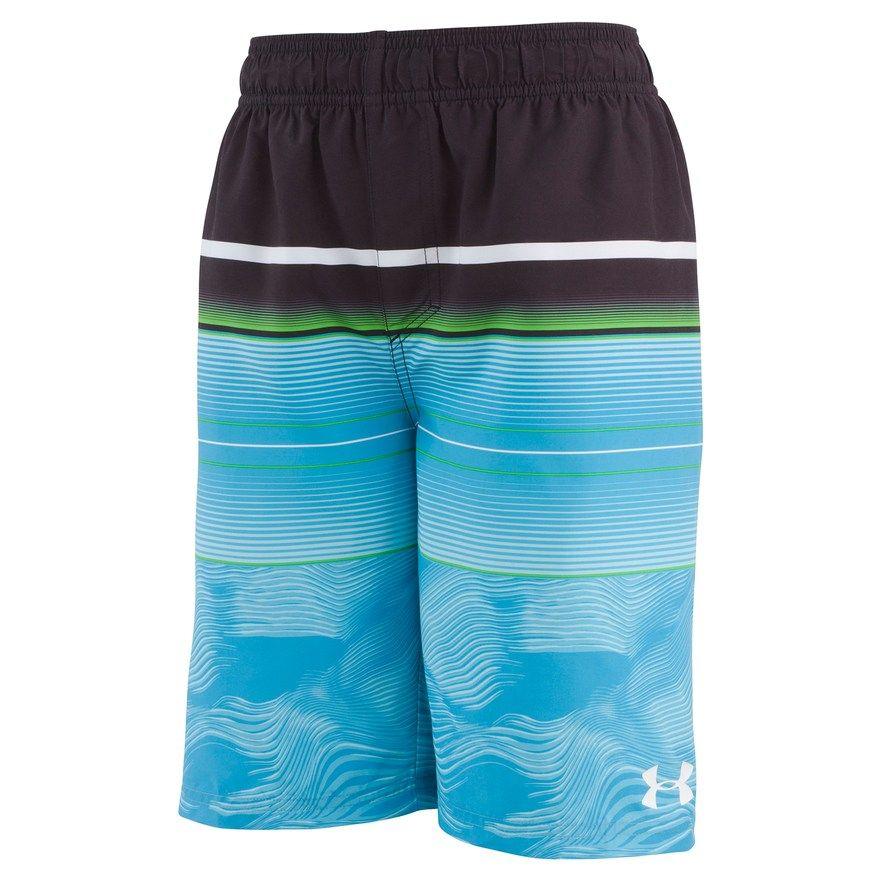 6ae8efd255 Boys 8-20 Under Armour Swim Volley Shorts, Boy's, Size: Large, Brt ...