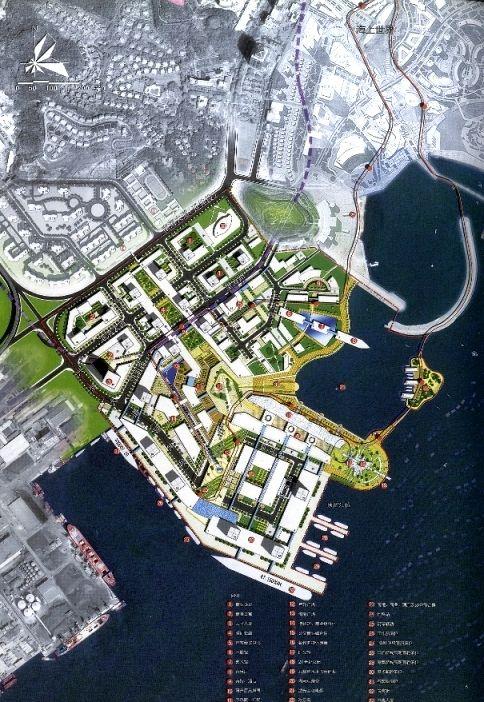 Shenzhen Shekou Taizi Bay Masterplan Urban Urban