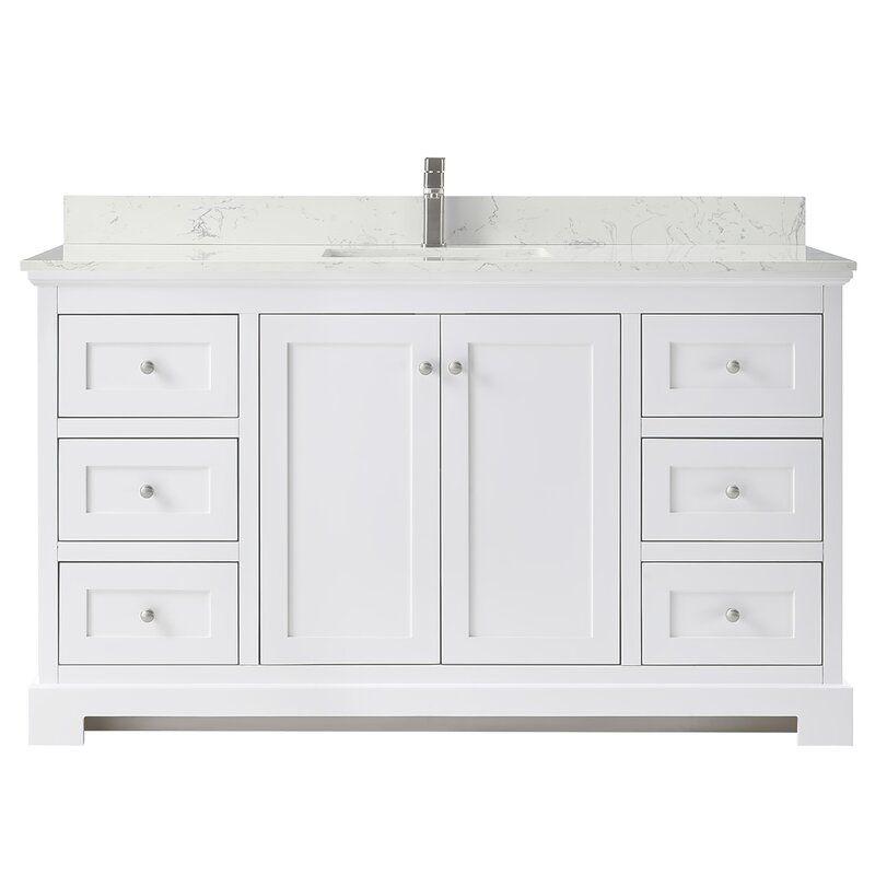 Ryla 60 Single Bathroom Vanity Set In 2020 Single Bathroom Vanity Bathroom Vanity Vanity Set