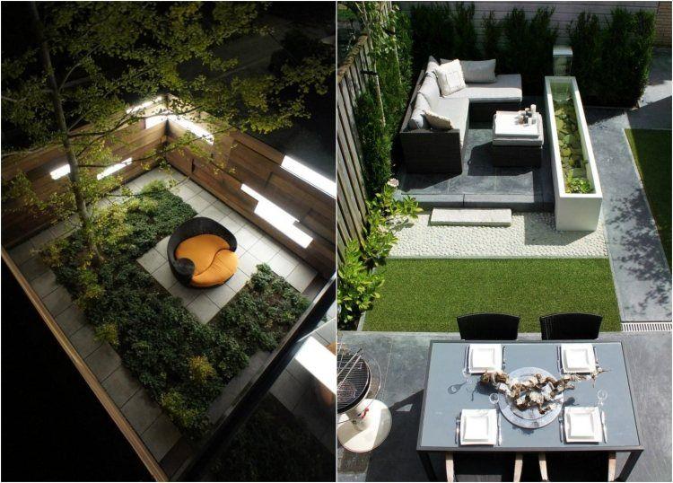gartengestaltung-ideen-kleine-garten-modern-beispiel | garten, Garten Ideen