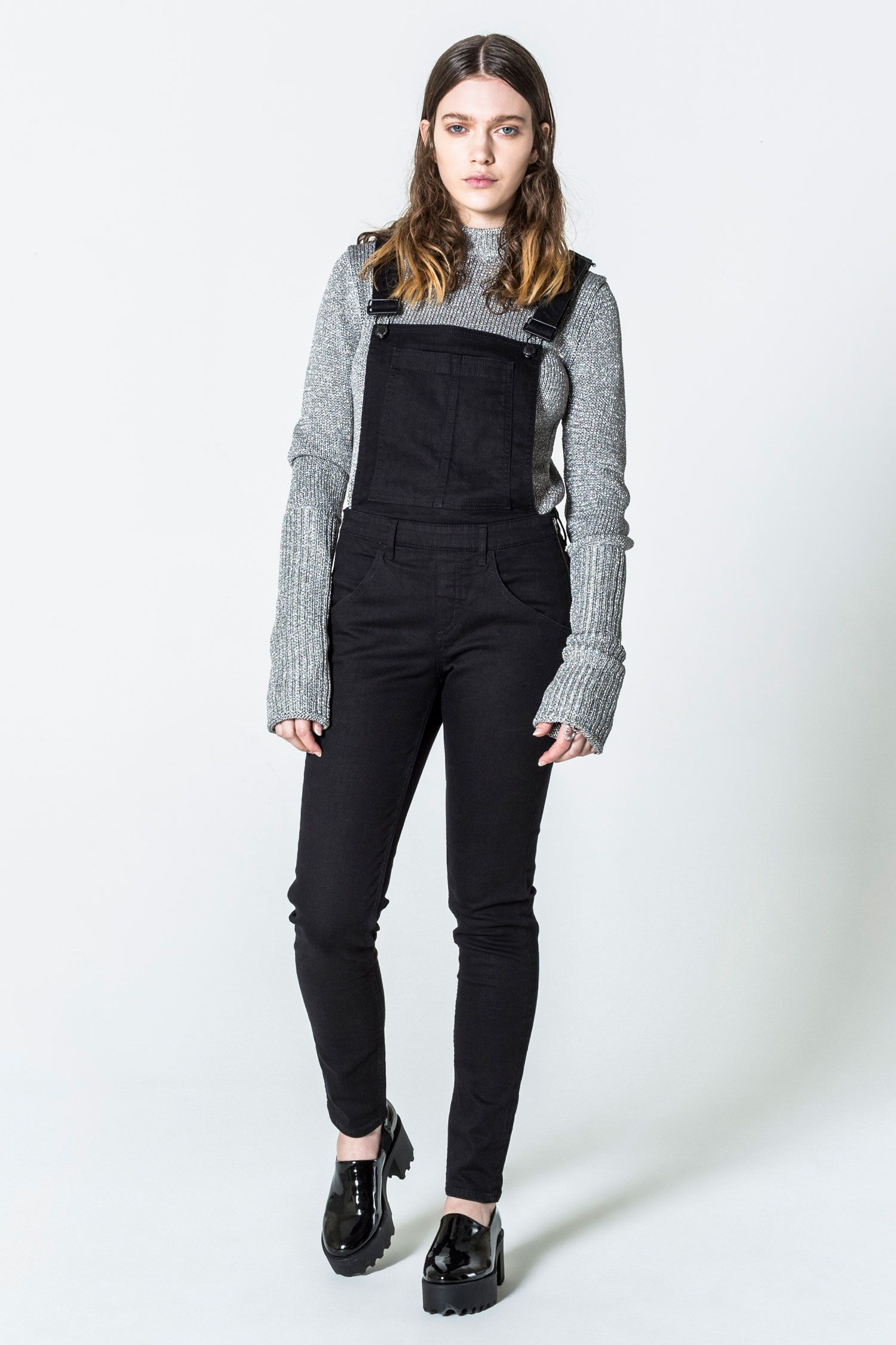 Cheap Monday Image 3 of Dungaree New Black in New Black