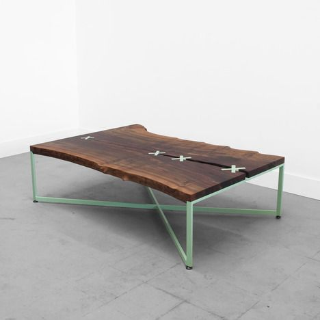 Not In Love With The Stitches But I Love The Colorful Base Stitch Table By Uhuru Design Coffee Table Coffee Table Design Furniture