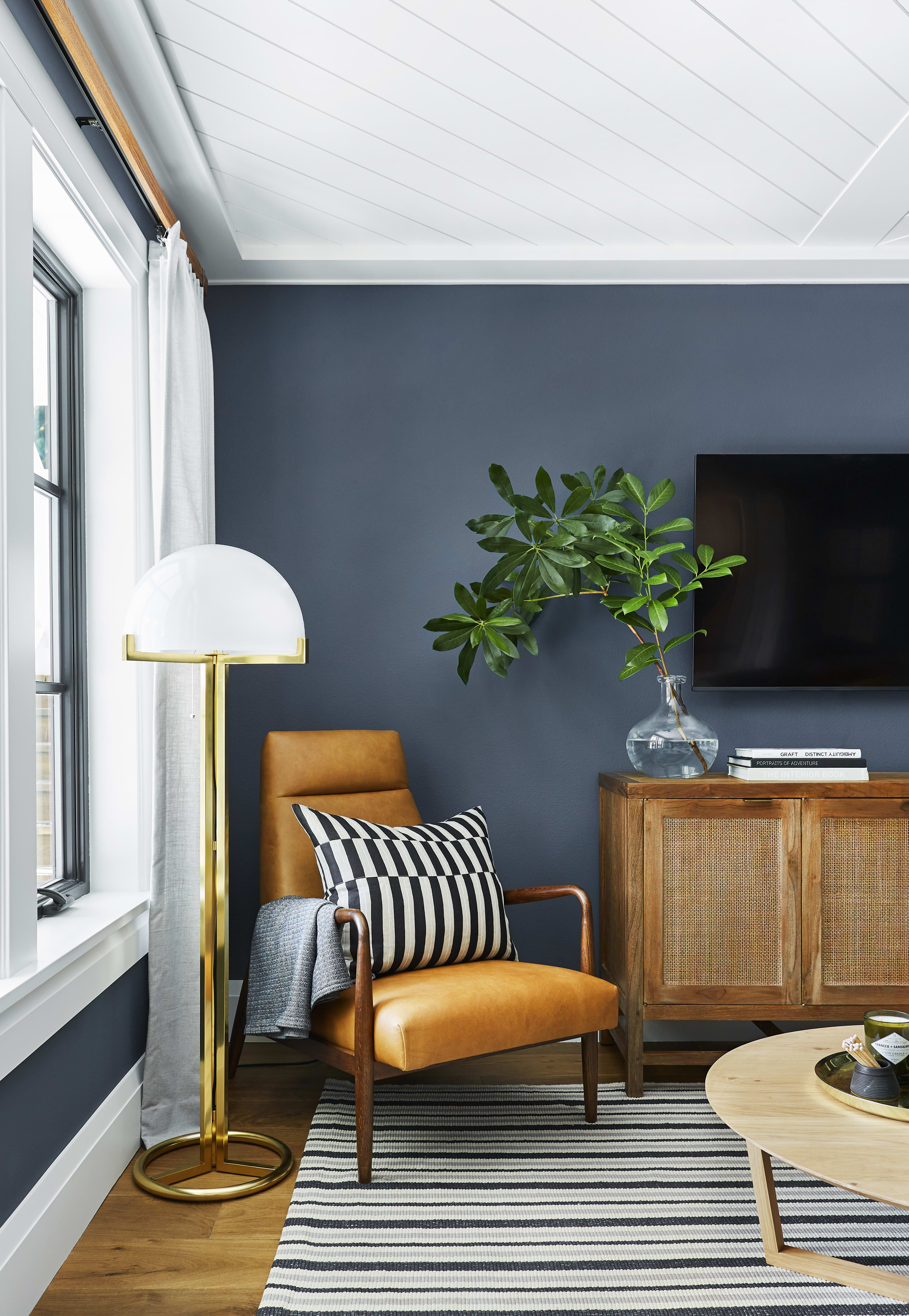 This Is The Most Relaxing Color To Paint Your Walls Home Decor Emily Henderson Design Decor #relaxing #living #room #colors