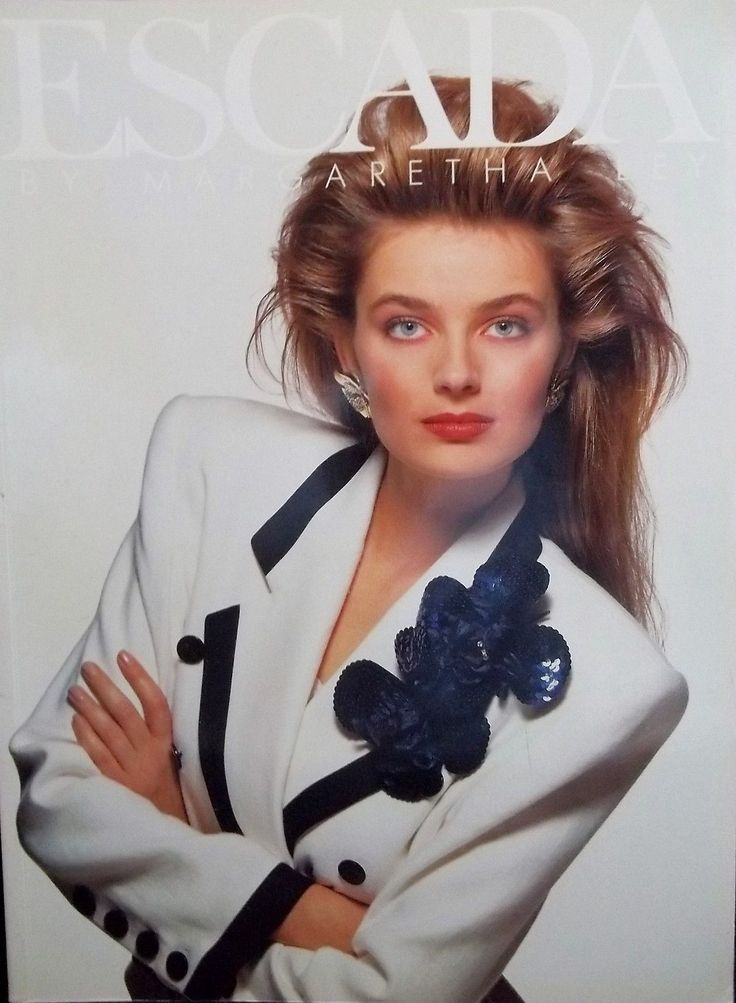 ESCADA Fashion Magazine Catalog Spring Summer 13 Margaretha Ley ...