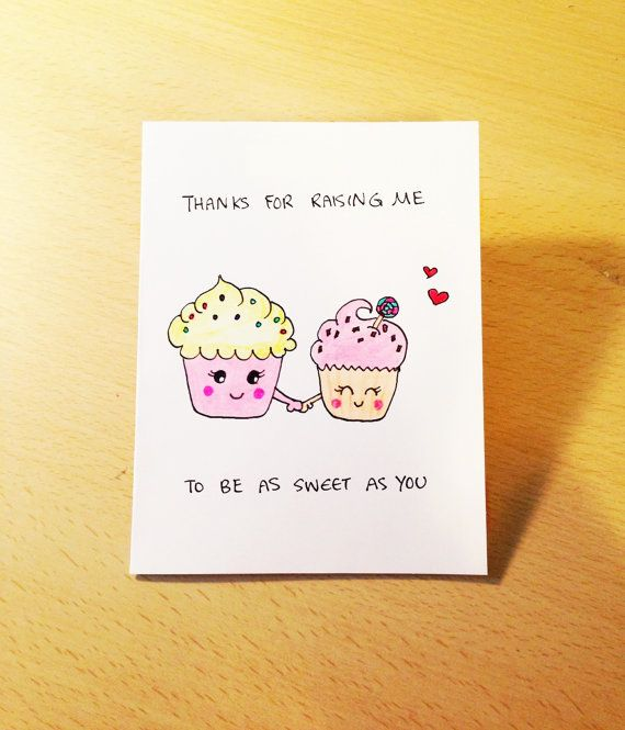 Mothers Day Card Funny Cute Mothers Day Card By