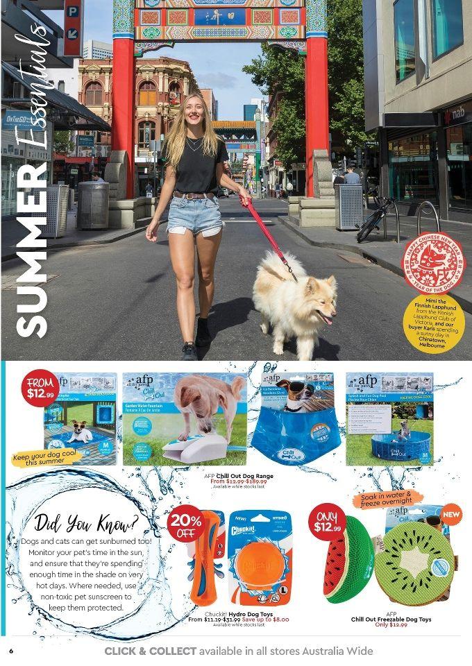 My Pet Warehouse Catalogue Summer Saving 1 – 31 January 2019