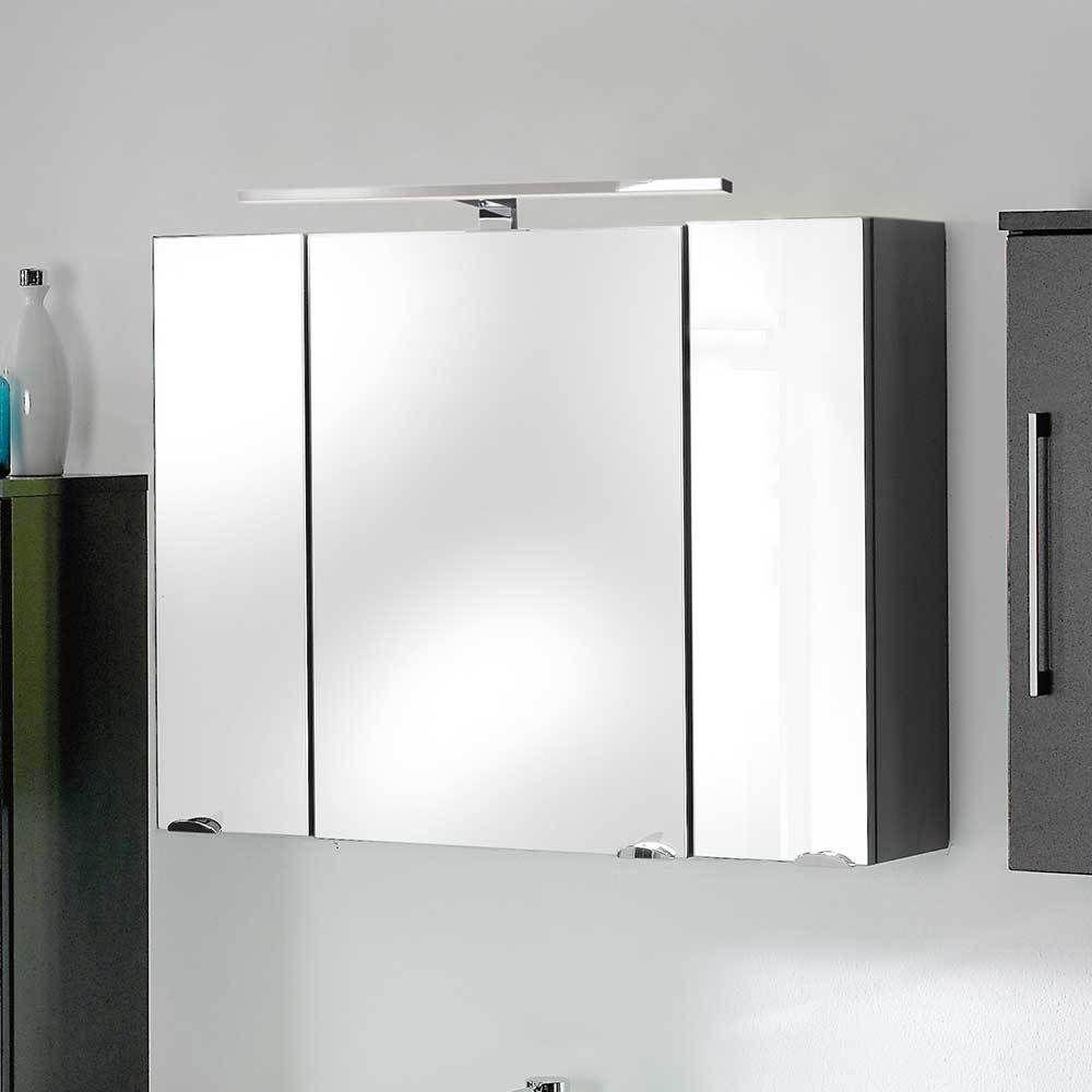 3d Spiegelschrank In Anthrazit Mit Licht Jetzt Bestellen Unter