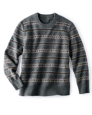 Men's Fair Isle Sweater | bowties and such things | Pinterest ...
