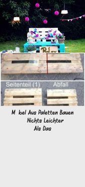 Möbel Aus Paletten Bauen – Nichts Leichter Als Das – #als #aus #bauen #das #L…