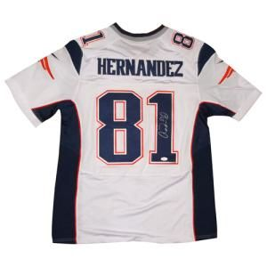 7bea7859a64 Aaron Hernandez Autographed Jersey Only $199.00 | New England ...