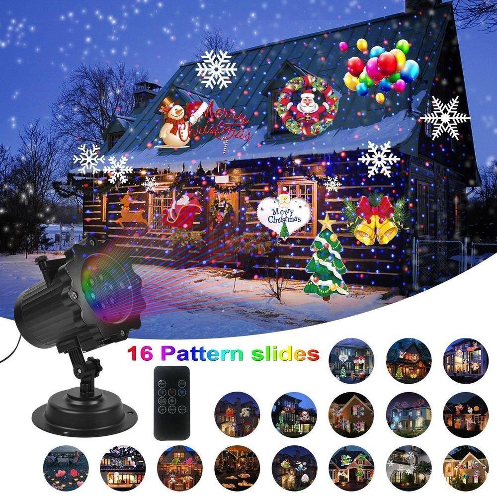 Laser light show christmas decorations