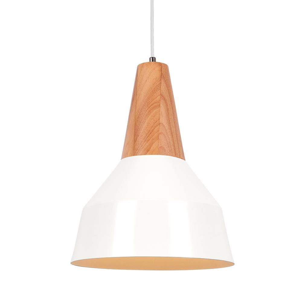 Cult living stockholm cone metal pendant light white stockholm