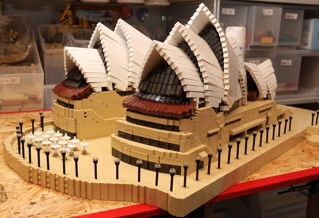 LEGO MOC / Sydney Opera house (With images)   Lego, Lego ...