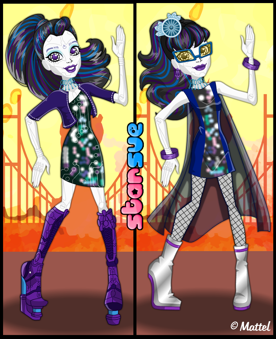Monster High Haunted Getting Ghostly Spectra Vondergeist Dress Up - Monster high dress up games spectra hairstyle