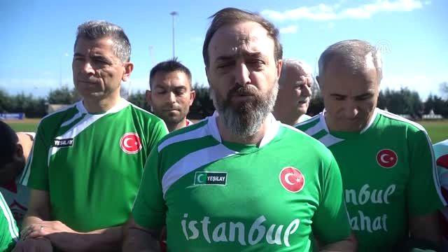 Tekirdağ il protokolü, Yeşilay Derneği tarafından uyuşturucuyla mücadelede farkındalık oluşturmak amacıyla düzenlenen gösteri maçında Roman futbol takımıyla karşılaştı.   #AdaletVeKalkınmaPartisi #Afrin #AKParti #AkPartiGenelMerkezi #AKP #Akparti #ArslanYurt #Futbol #GençlikHizmetleriveSporİlMüdürlüğü #haber #haberi #haberler #haberleri #HasanYılmaz #Hükümet #Milletvekili #NamıkKemal #ŞenerÇelikayar #Süleymanpaşa #Tekirdağ #Yeşilay #Ze