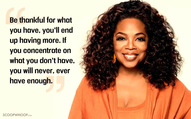 30 Inspiring Oprah Winfrey Quotes That'll Help You Live