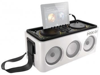 Sistema de som m dj w rms caixas acústicas wireless