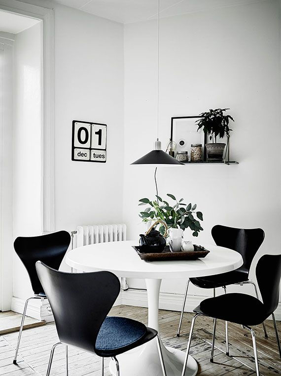 5 Scandinavian Dining Rooms To Make You Crave For A Round Table