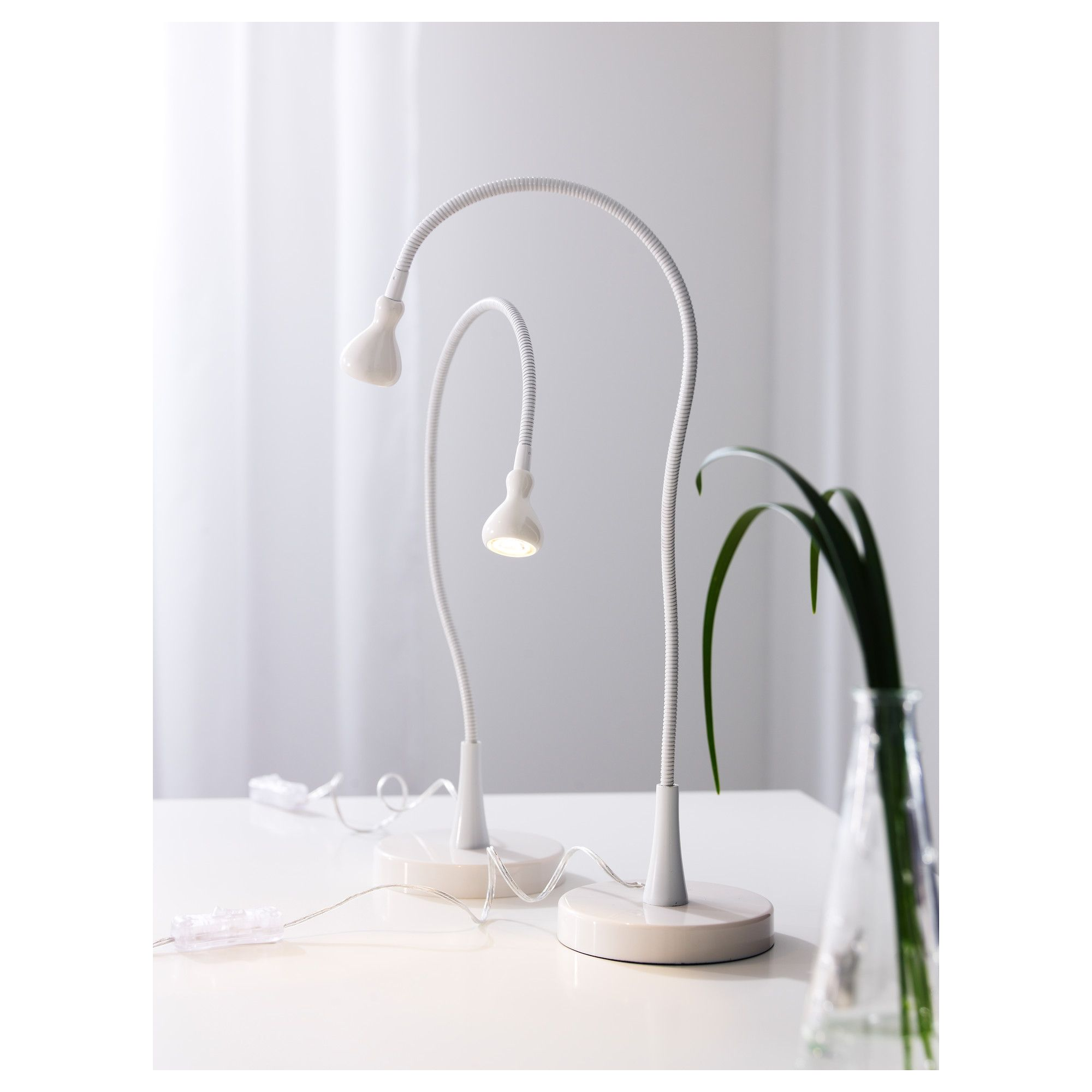 ikea jansj led work lamp white en 2018 products. Black Bedroom Furniture Sets. Home Design Ideas