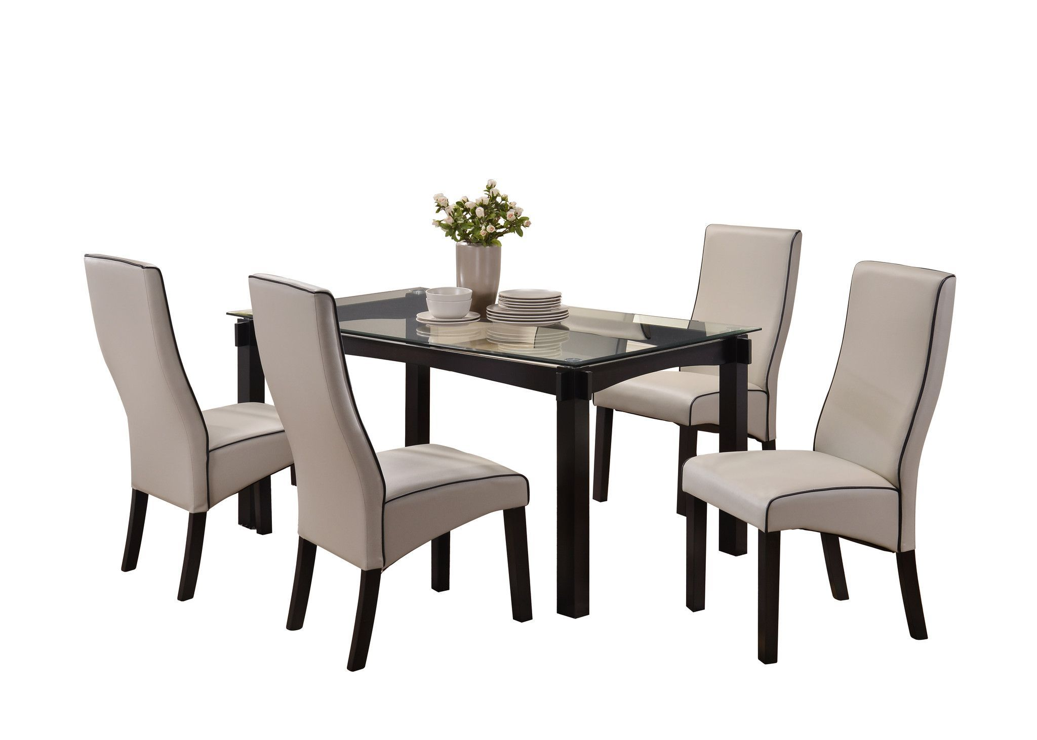 Pilaster Designs - Dining Dinette - Kitchen Table & Gray ...