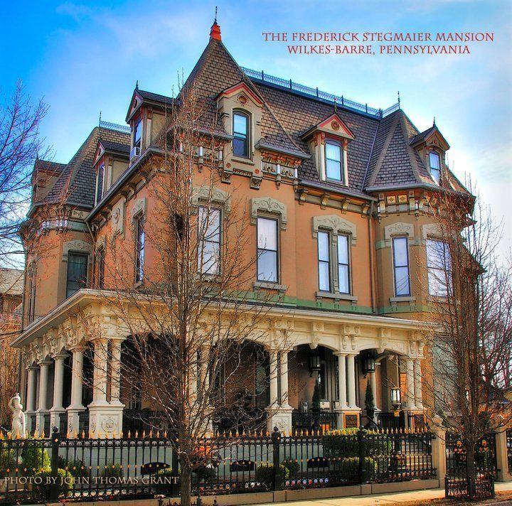 Abandoned Places For Sale In Pa: The Frederick Stegmaier Mansion Wilkes-Barre, PA
