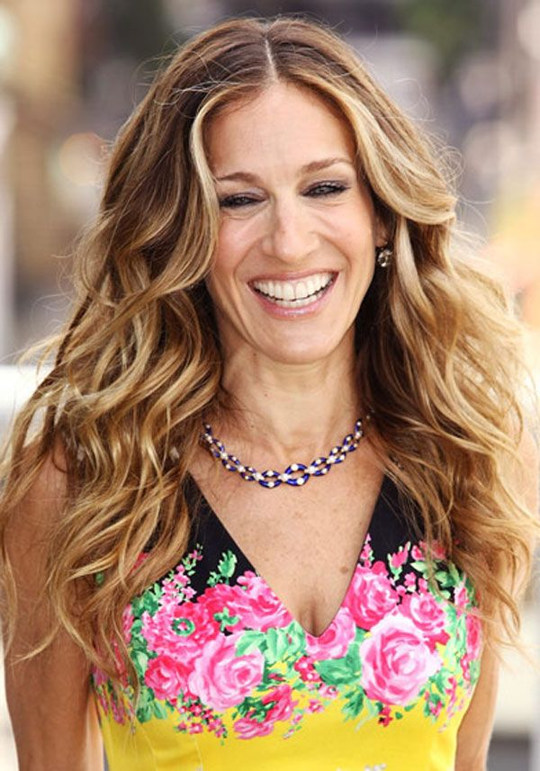 Great Haircuts For Long Hair Sarah Jessica Parker Curly Haircuts