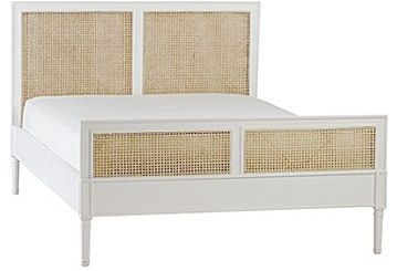 Harbour Cane Bed – White   domino.com