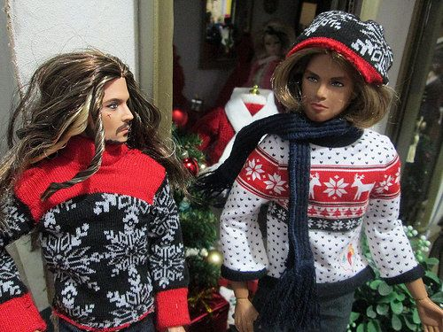 Christmas couture... | Flickr - Photo Sharing!