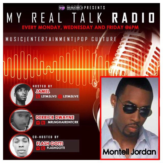 Tune in today at 6pm to #MyRealTalkRadio with their exclusive interview with #MontellJordan Click the link in the bio to download the free app or visit www.thedailygrindmovement.com #DGRadio #LiveMusic #24/7 #CelebrityInterview