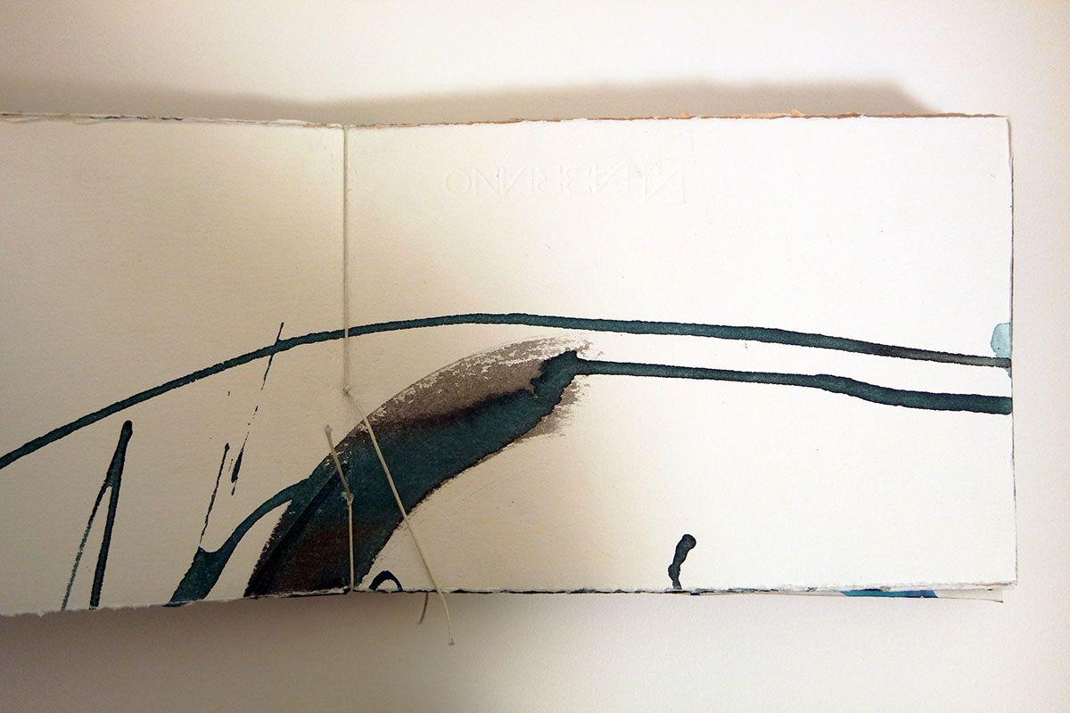 calligraphy book. parlo con la carta e scrivo immagini on Behance by Marta Cortese