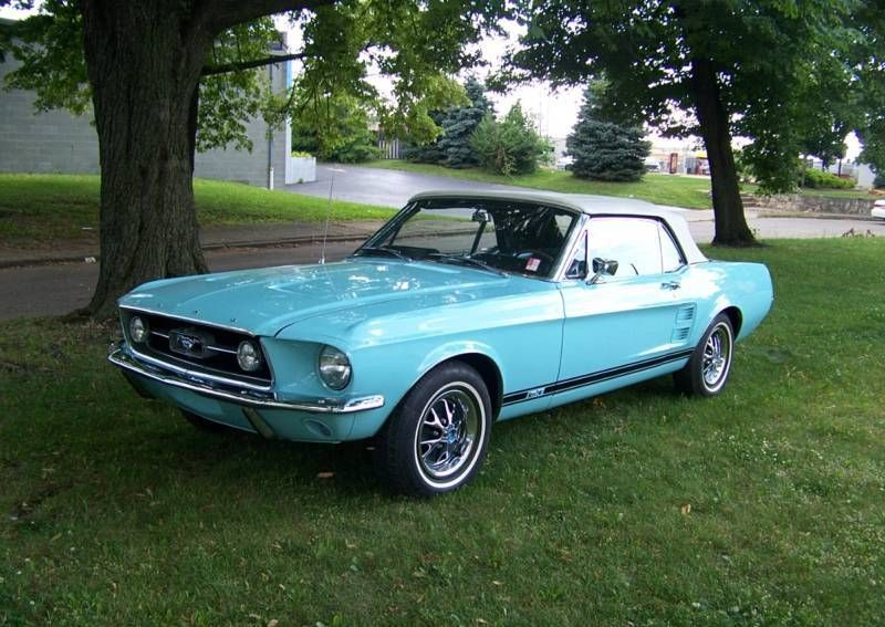 B – Frost Turquoise 1967 Ford Mustang..Re-pin Brought to you by agents at #House…