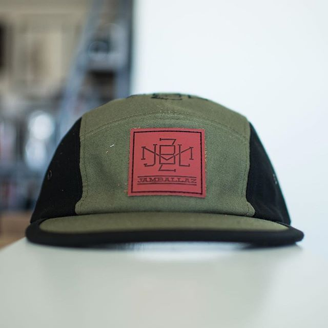 Custom Color Cotton Twill Five Panels for  jamballaz⠀ ! Branding Options  Include  Front Debossed Leather Patch with Black Ink 81a89d20616b