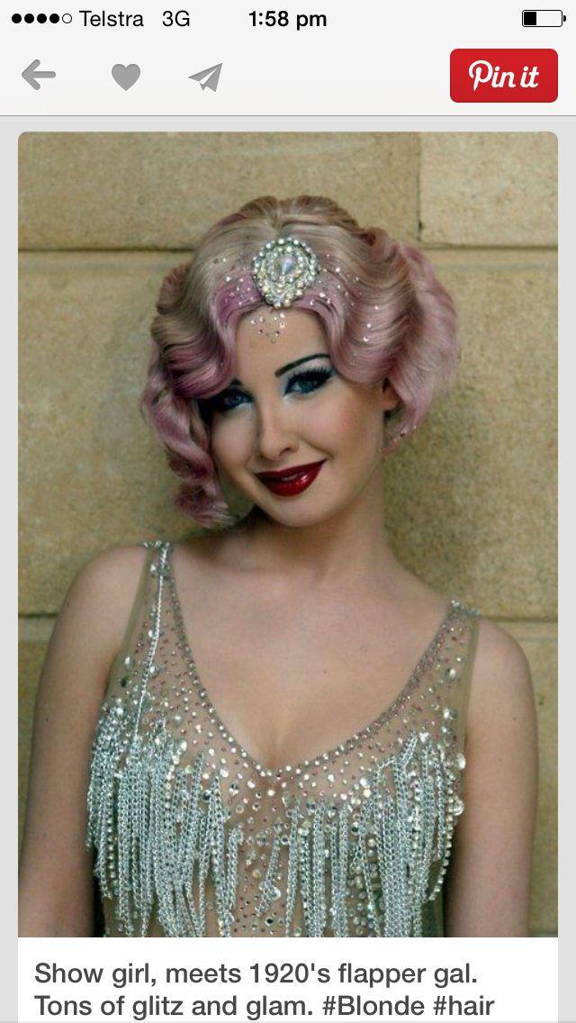Pin by Zyanya Lee on Lovely Locks Flapper hair, Short