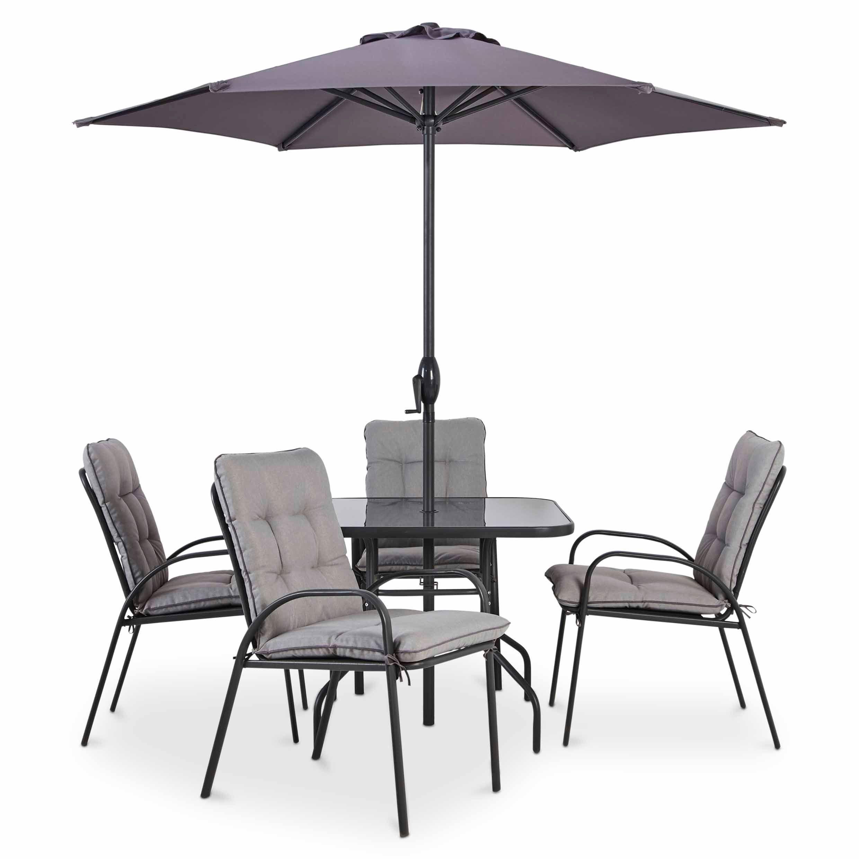 Cranbrook Metal 4 Seater Dining Set Departments Diy At 400 x 300