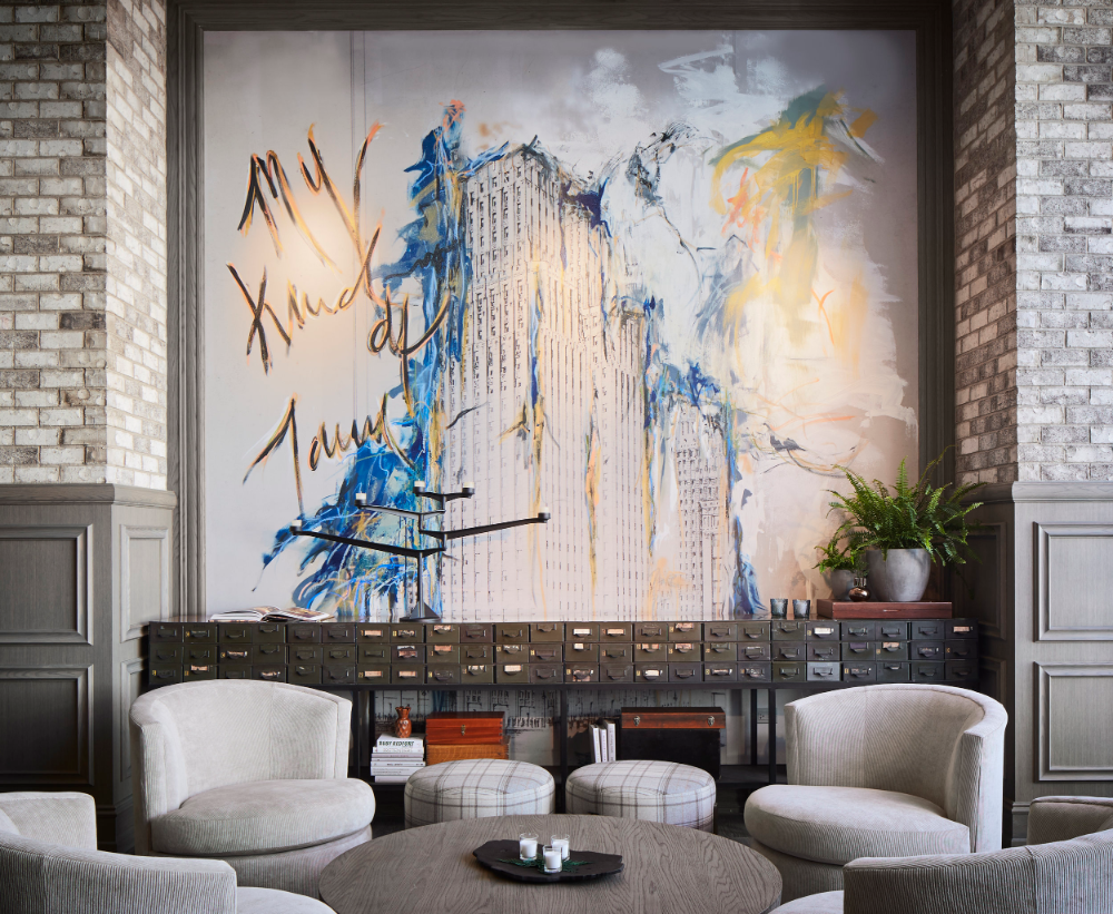 Hotel Zachary Chicago Studio K Creative In 2020 With Images