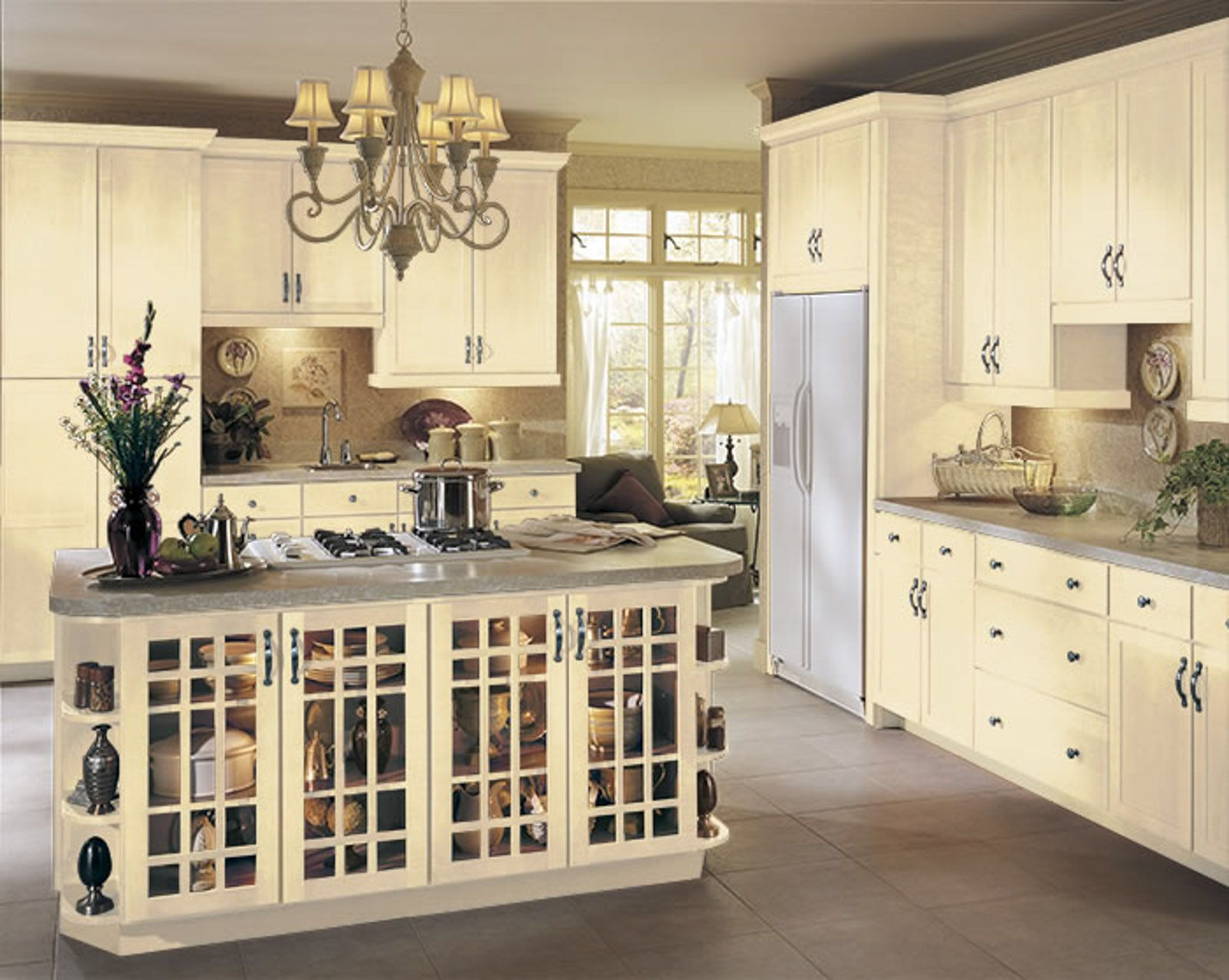 Vanilla Cream Armstrong Echelon Ascent Rossiter Kitchen Remodel Cabinet Kitchen