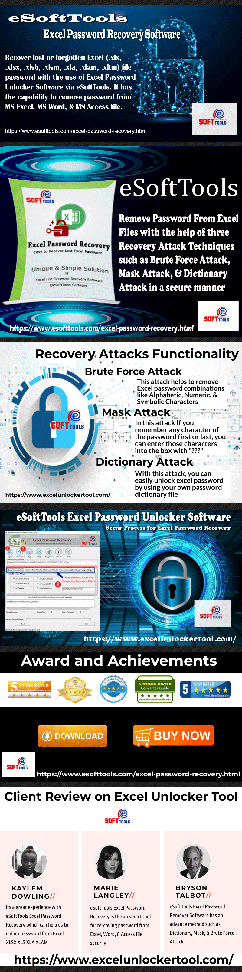 eSoftTools Excel Password Recovery to Unlock Excel File