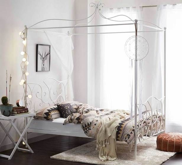 Fantastic Furniture - Paris Four Poster Double Bed $299 & Fantastic Furniture - Paris Four Poster Double Bed $299 | House ...
