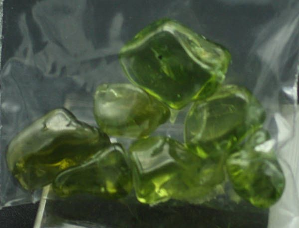 Tumbled and Polished Peridot, Mineral Specimens for Sale by BandLMinerals on Etsy