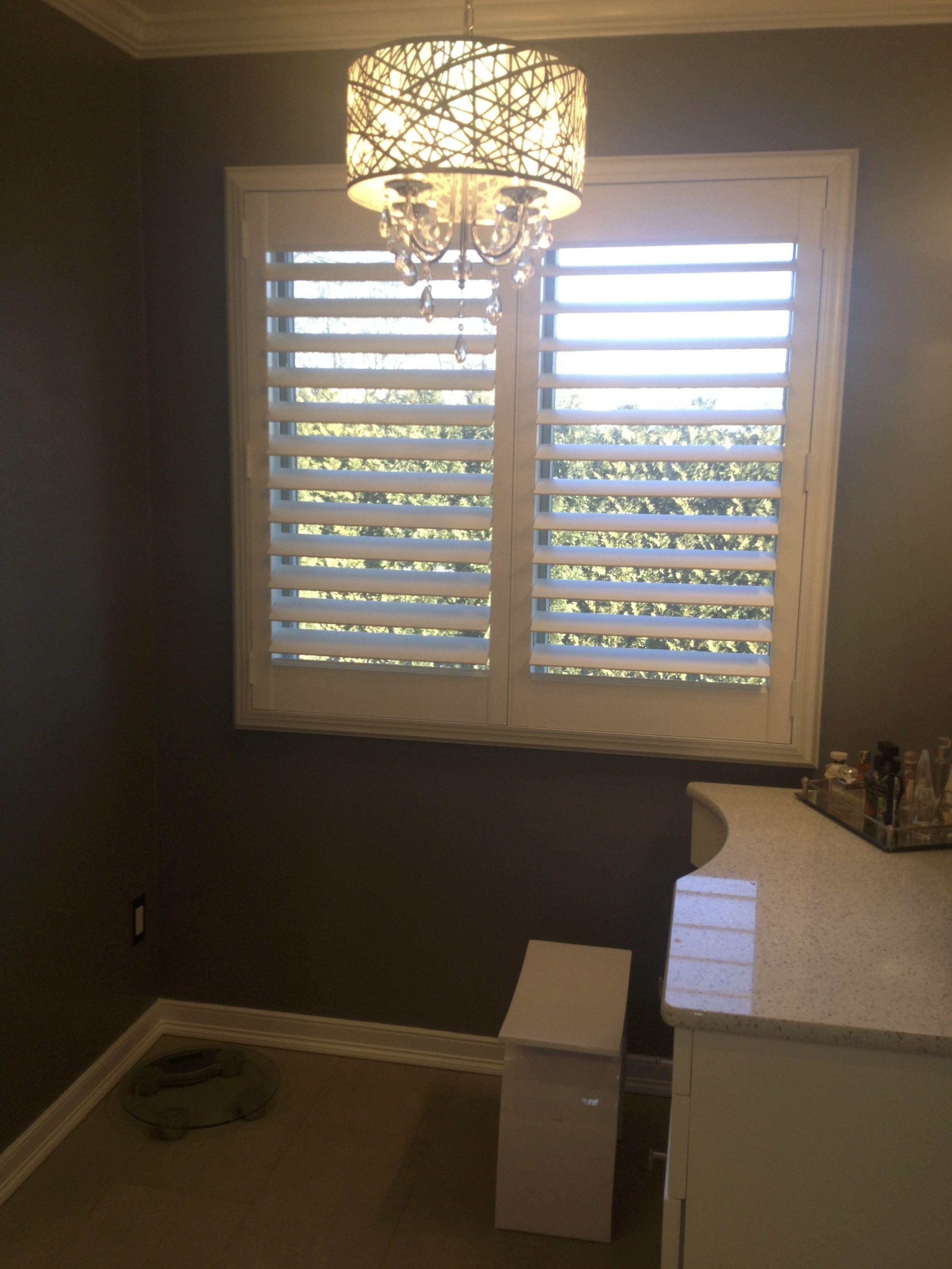 Hunter douglas plantation shutters sold u installed by breslow ww